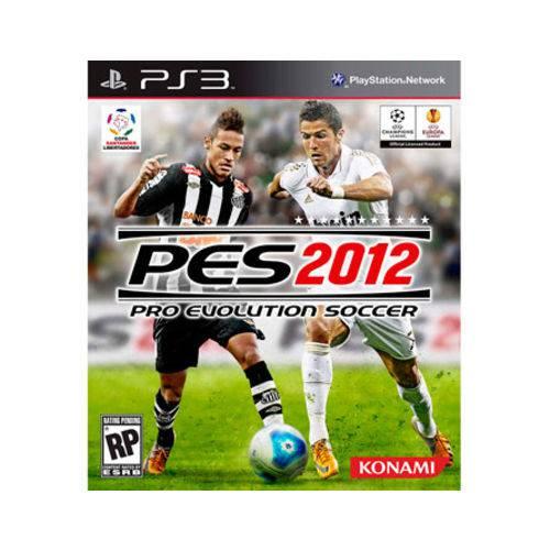 Jogo PS3 PES 2012