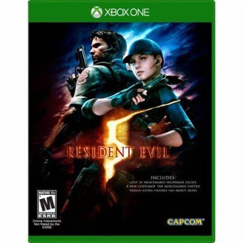 Jogo Resident Evil 5 Remastered Xone BR