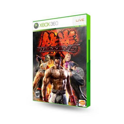 Jogo Tekken 6 Xbox 360
