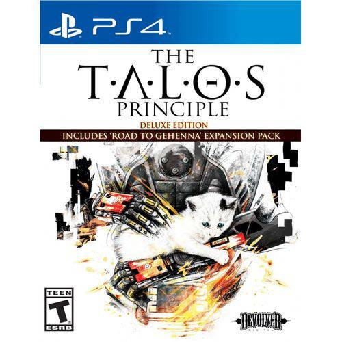 Jogo The Talos Principle Deluxe Edition Ps4