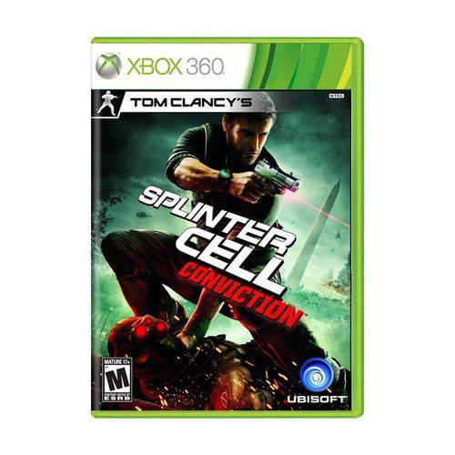 Jogo Tom Clancys Splinter Cell Conviction - Xbox 360
