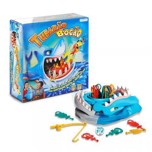 Jogo Tubarão Bocão Multikids - Br753