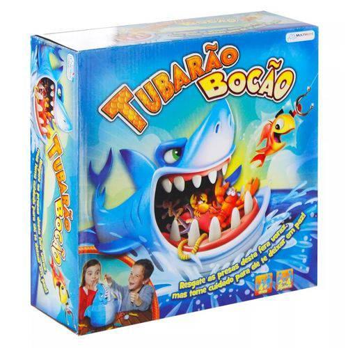 Jogo Tubarão Bocão - Multilaser