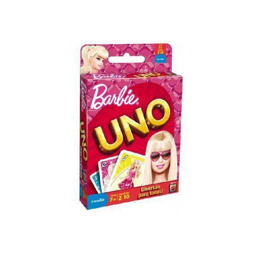 Jogo Uno Barbie - Mattel W1143