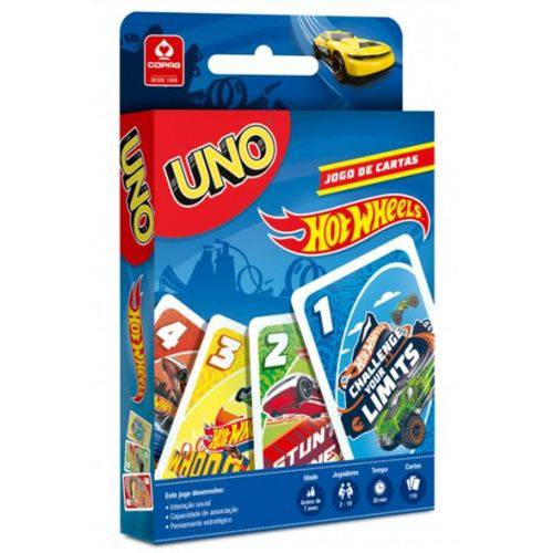 Jogo Uno Hot Wheels - Copag