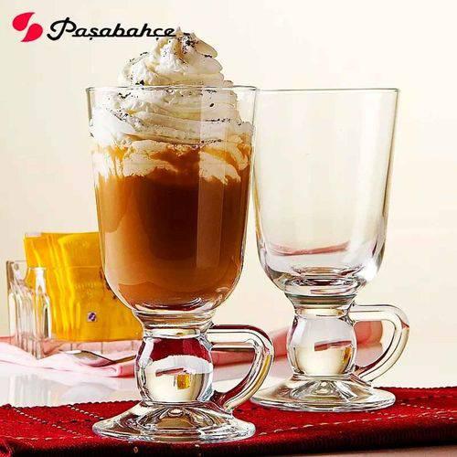 Jogo 2 Xícaras 280 Ml Café Pasabahce Irish Coffe Nespresso