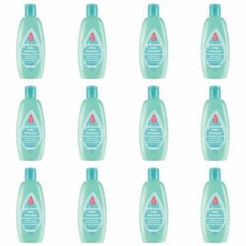 Johnsons Baby Hidratação Intensa Shampoo 200ml (kit C/12)