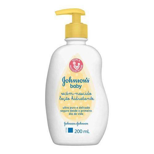Johnsons Baby Recém Nascido Hidratante 200ml