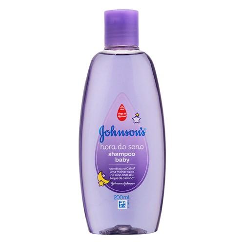 Johnson's Baby Shampoo Hora do Sono com 200ml