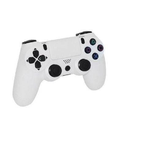 Joystick Controle com Fio para Ps4 Playstation 4 Branco Knup