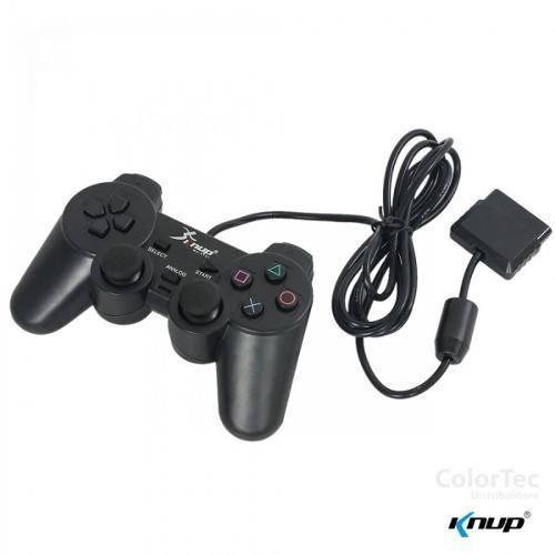 Joystick para Playstation Ii Ps2 Controle Knup Ns-2121