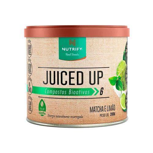 Juiced Up Nutrify 200g - Matcha e Limão