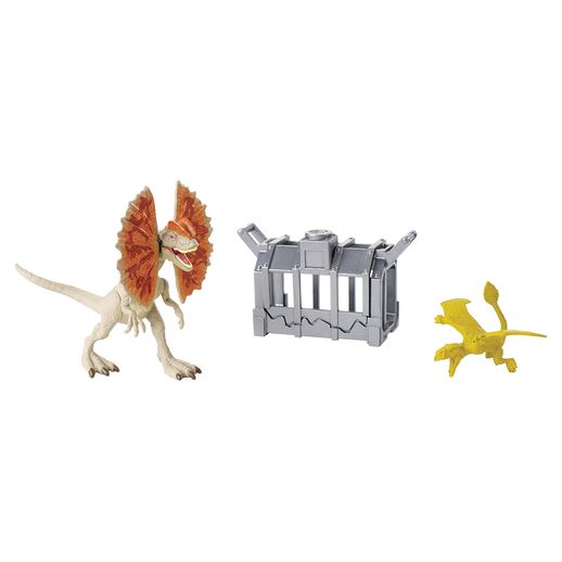 Jurassic World Destrutosauros Dilophosaurus - Mattel Jurassic World Destrutosauros Dilophosaurus - Mattel