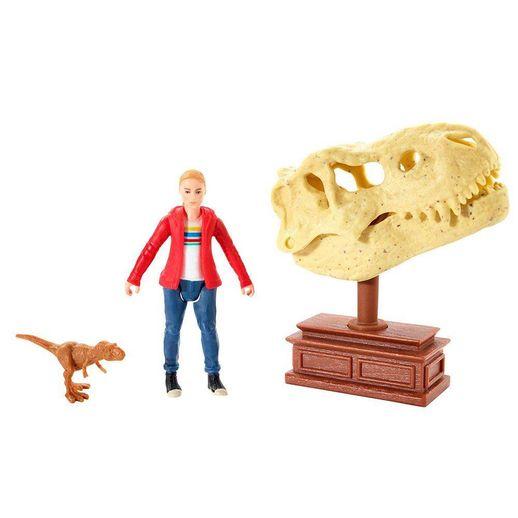 Jurassic World Figura Básica Maisie e T Rex - Mattel