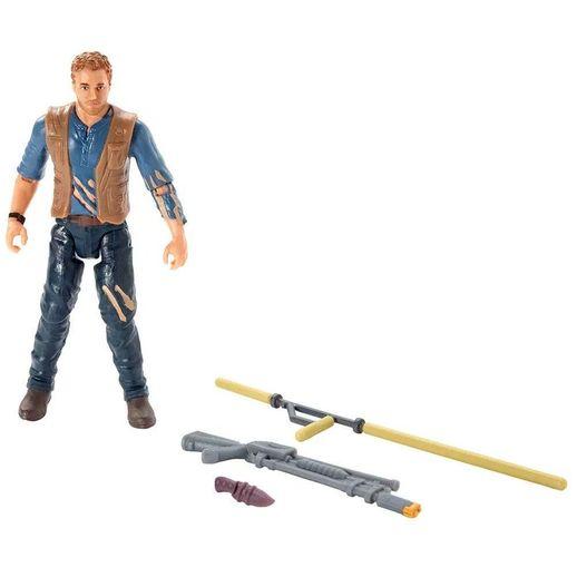 Jurassic World Figura Básica Owen de Batalha - Mattel