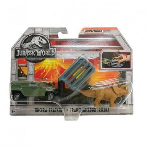 Jurassic World Transporte Tricera Track - FMY31 - Mattel