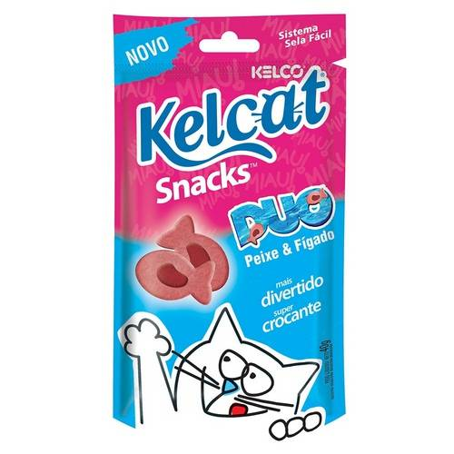 Kelcat Snack Duo Kelco - 40 G
