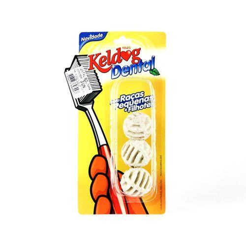 Keldog Dental Bolinha - com 3 Unidades
