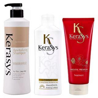 Kerasys Revitaling Kit - Shampoo + Condicionador + Tratamento Kit