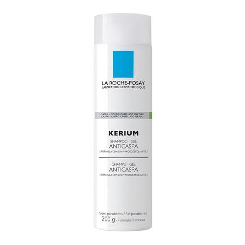 Kerium La Roche Posay Shampoo Gel Anticaspa com 200ml