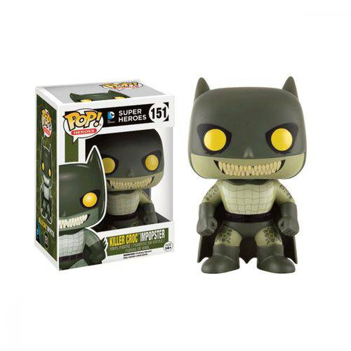 Killer Croc Impopster 151 Pop Funko Batman