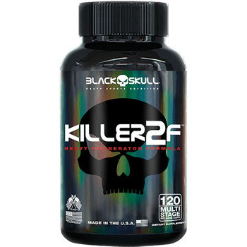 Killer 2F (120 Caps.) - Black Skull