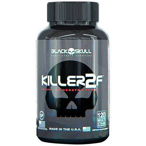 Killer 2f (120caps) - Black Skull