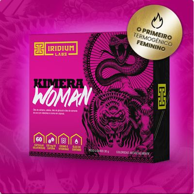 Kimera Woman 60 Tabletes Iridium Labs