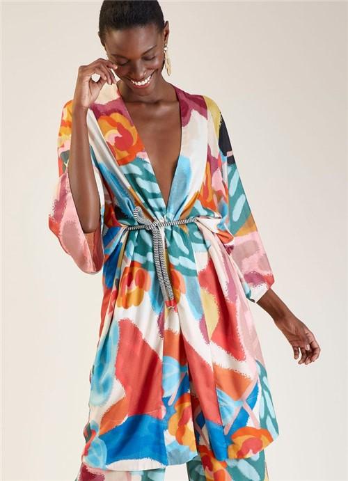 Kimono Estampa Ternura Especial P