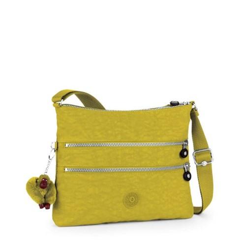 Kipling | Bolsa Transversal Alvar Amarelo - U