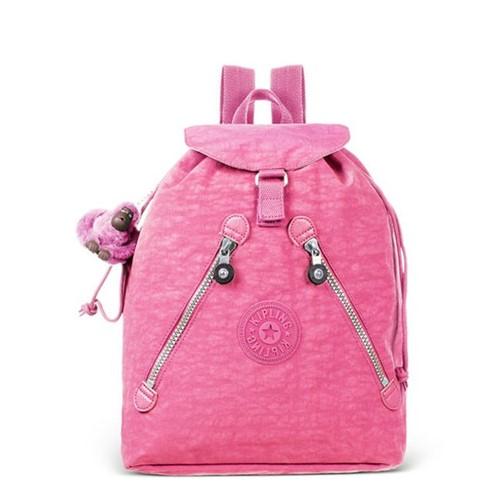 Kipling | Mochila de Passeio Fundamental Begonia Pink - U