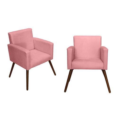 Kit 02 Poltrona Cadeira Decorativa Beatriz