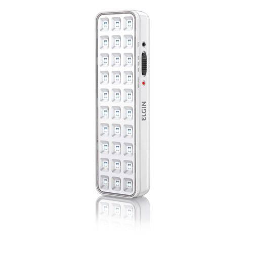 Luminária de Emergencia 30 LEDS Bivolt 2W ELGIN