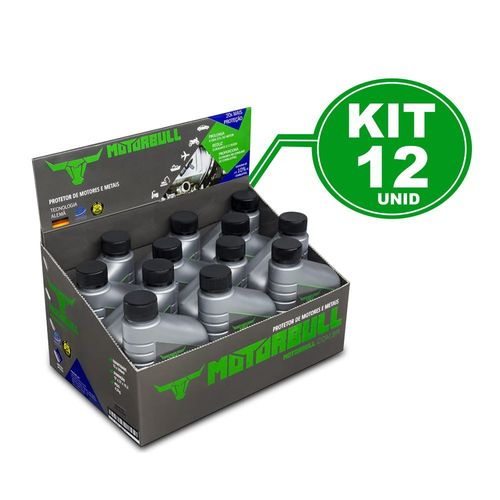 Kit 12 Motorbull Condicionador e Protetor de Motores e Metais 300ml