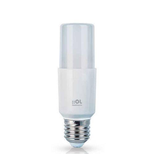 Kit 10 Lâmpadas LED Compacta E27 4,8W 6500K Bivolt