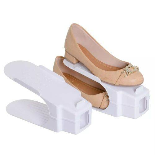 Organizador Rack Sapato 4 Unidades Branco