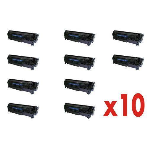 Kit 10 Toner 2612a 12a P/ 1010 1015 1018 1020 1022 M1005