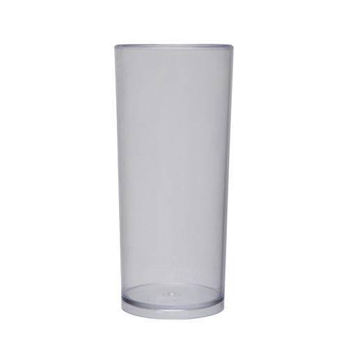 KIT 100 Copos Long Drink 370ml Transparente
