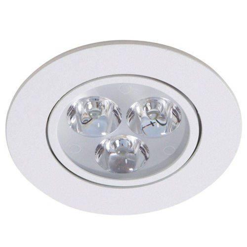 Kit 15 Spot Led 5w Lampada Dicroica Direcionavel Redondo Sanca Gesso
