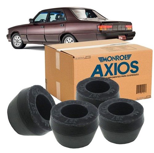 Kit 4 Bucha Amortecedor Traseira Inferior Kit1046 Opala /chevette /car