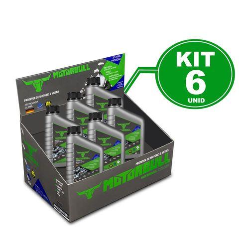 Kit 6 Motorbull Condicionador e Protetor de Motores e Metais 300ml