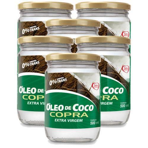 Kit 6 X Óleo de Coco Virgem 500ml