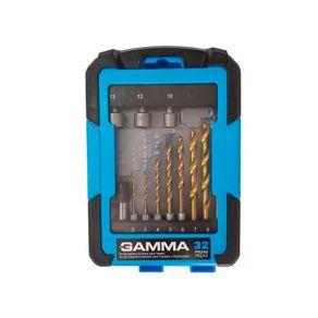 Kit Acessórios Sextavados Gamma para Parafusadeira e Furadeira 32 Peças