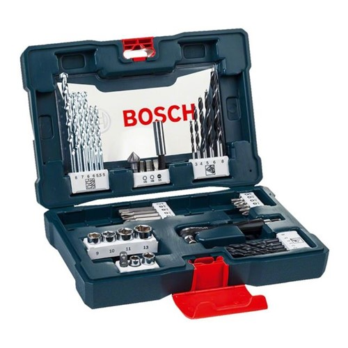 Kit Acessórios V-Line com 41 Peças Bosch Azul