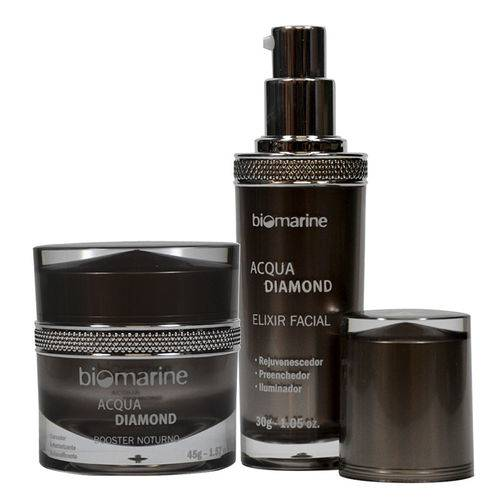 Kit Acqua Diamond Biomarine - Rejuvenescedor - Dia e Noite 75g