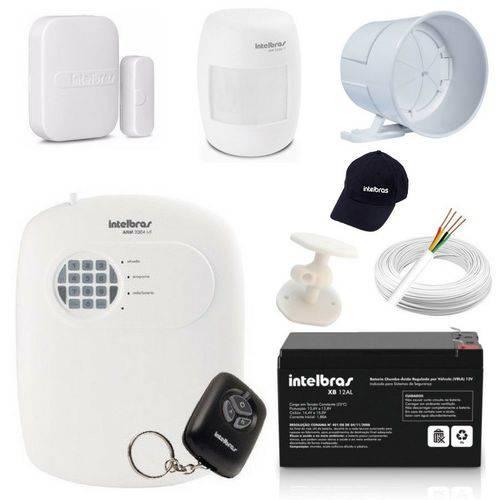 Kit Alarme Basico Segurança Residencial Casa Loja Comercial
