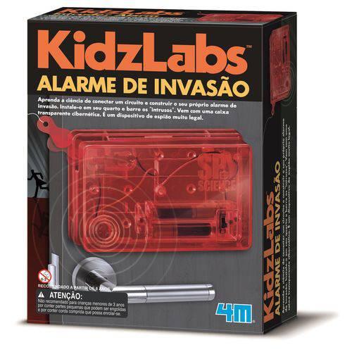 Kit Alarme de Invasão - 4M - Brinquedo Educativo
