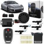 Kit Alarme para Carro Pósitron Keyless Kl360 Universal + Trava Elétrica 4 Portas Dupla Serventia
