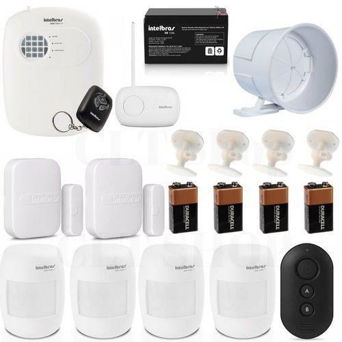 Kit Alarme para Casa Completo com Acessórios Intelbras