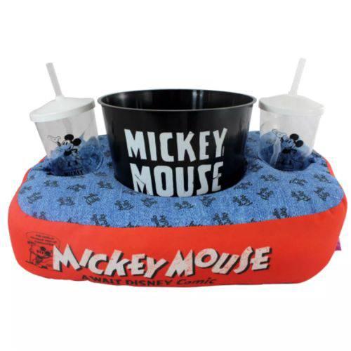 Kit Almofada Pipoca Fibra Mickey Mouse